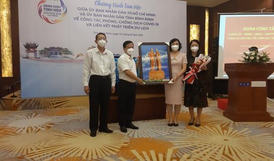 Thành phố Hồ Chí Minh cùng Bình Định liên kết phát triển du lịch