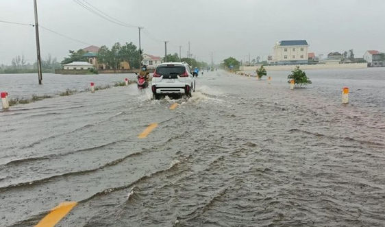 Thủ tướng gửi Công điện về ứng phó mưa lũ tại khu vực Trung Bộ