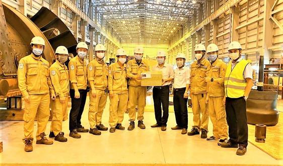 Công đoàn Nhà máy Nhiệt điện Vĩnh Tân 4: Thăm hỏi động viên CBNLĐ