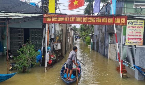 Thời tiết 25/10, Bình Định đến Khánh Hòa có mưa rất to