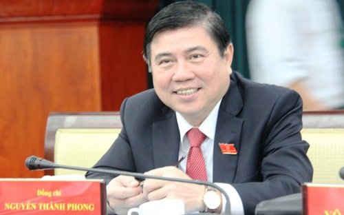 Ông Nguyễn Thành Phong được bầu làm Chủ tịch UBND TPHCM