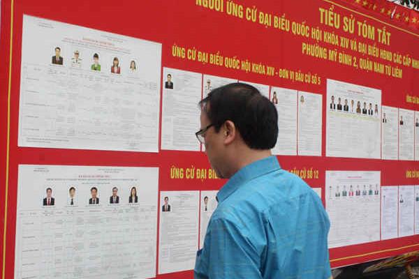 Ngày hội bầu cử toàn dân thành công tốt đẹp