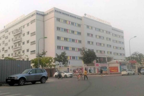 Bắc Từ Liêm - Hà Nội: Xây trường Newton 7 tầng không phép, Thanh tra xây dựng ở đâu?