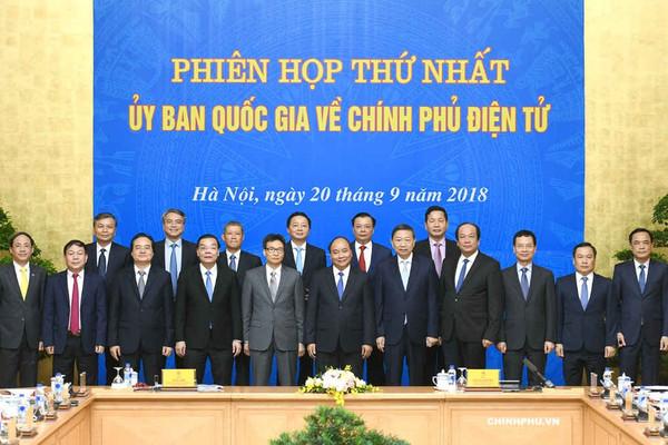 Ủy ban Quốc gia về Chính phủ điện tử họp phiên đầu tiên