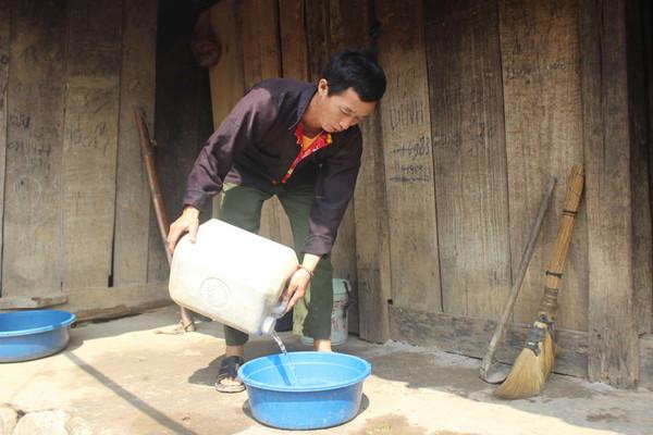 Vùng cao Tủa Chùa và nỗi lo thiếu nước sinh hoạt