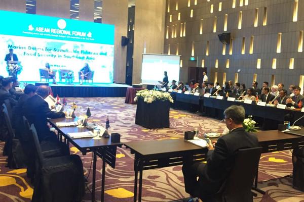 Hội thảo Diễn đàn Khu vực ASEAN về quản lý rác thải nhựa đại dương