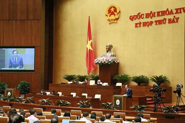 Quốc hội nghe tờ trình về dự án Bộ luật Lao động (sửa đổi)