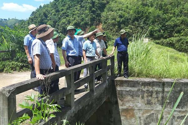 Thứ trưởng Bộ TN&MT Lê Công Thành kiểm tra công tác phòng chống thiên tai tại Lạng Sơn