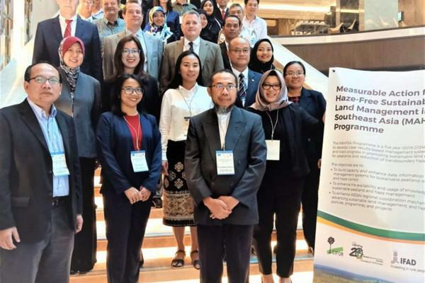 IFAD cấp 3,5 triệu USD cho ASEAN giảm ô nhiễm khói mù xuyên biên giới ở Đông Nam Á