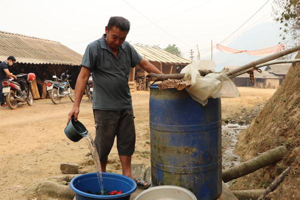 Điện Biên Đông: Nhiều công trình nước sinh hoạt kém hiệu quả
