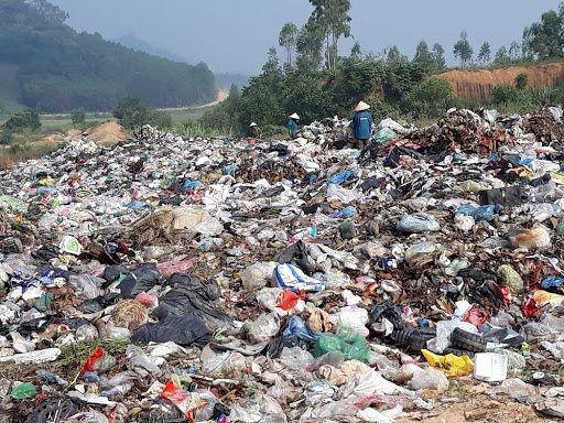 Nan giải với rác thải nông thôn