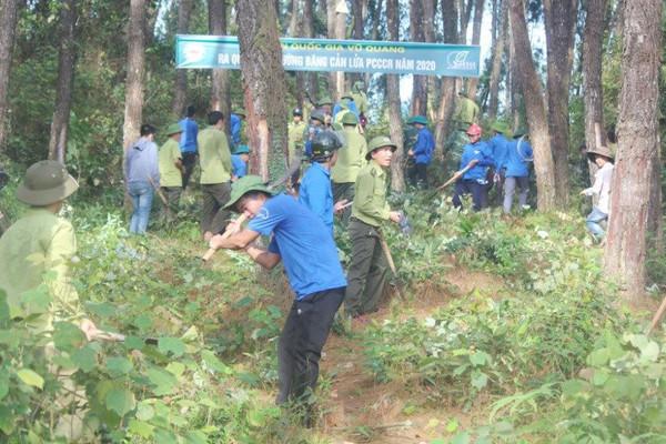 Hà Tĩnh: Chủ động trong công tác phòng, chống cháy rừng ở Vườn Quốc gia Vũ Quang