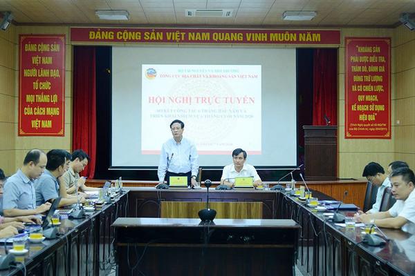 Tổng cục Địa chất và Khoáng sản Việt Nam triển khai nhiệm vụ 6 tháng cuối năm 2020