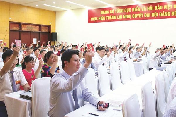 Đảng bộ Tổng cục Biển và hải đảo Việt Nam: Gìn giữ đoàn kết thống nhất nội bộ, xây dựng đơn vị vững mạnh