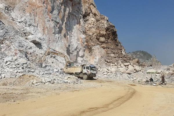 Thanh Hóa: Đóng cửa mỏ đất, đá để bảo vệ khoáng sản chưa khai thác