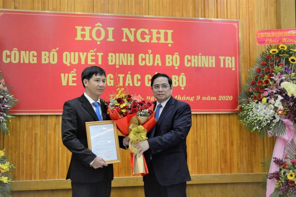 Trao quyết định chuẩn y ông Nguyễn Thành Tâm giữ chức Bí thư Tỉnh uỷ Tây Ninh