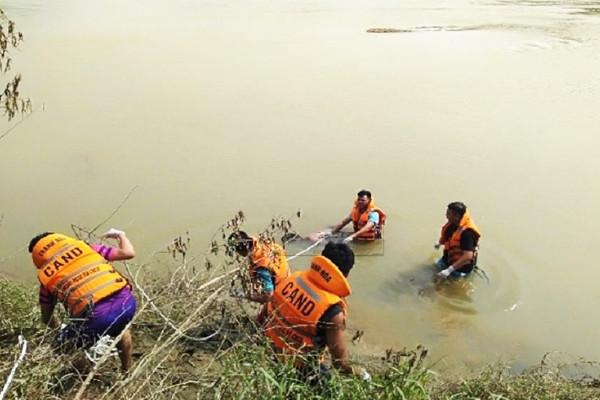 Tìm thấy thi thể nạn nhân đuối nước trên sông Mã