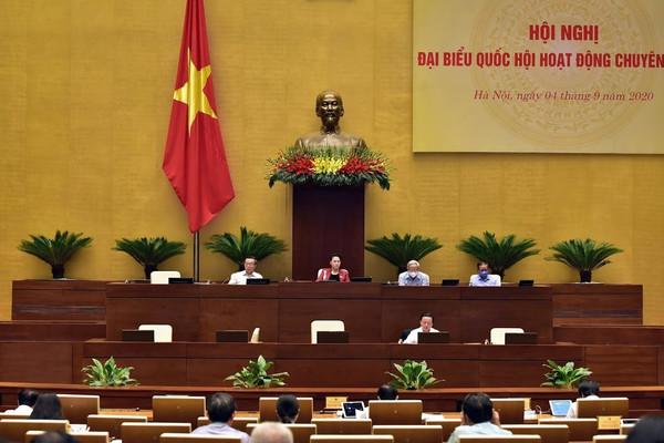 Đại biểu Quốc hội hoạt động chuyên trách cho ý kiến về Luật Bảo vệ môi trường (sửa đổi)