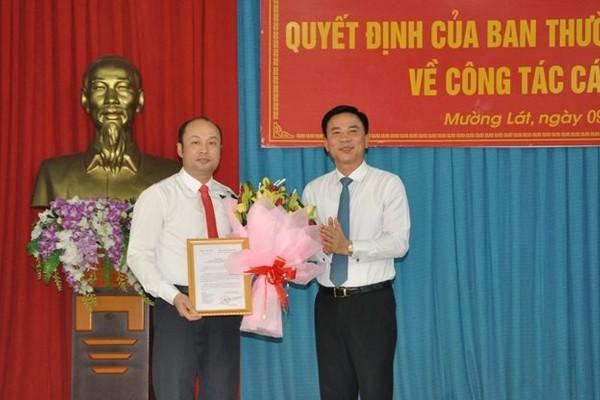 Thanh Hóa: Điều động, bổ nhiệm nhân sự huyện Mường Lát và Quan Sơn