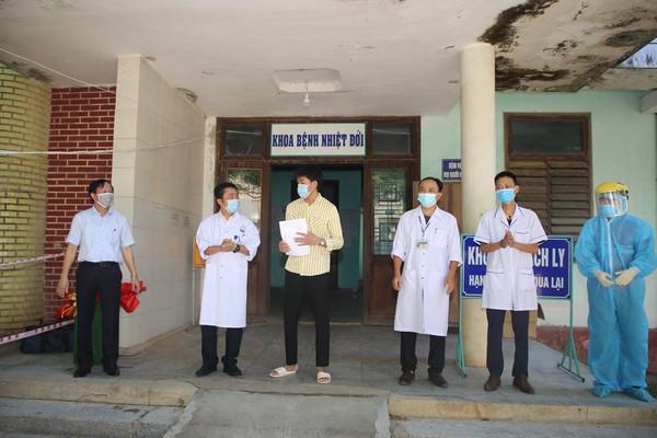 Quảng Trị: 4/7 bệnh nhân Covid-19 đã được xuất viện