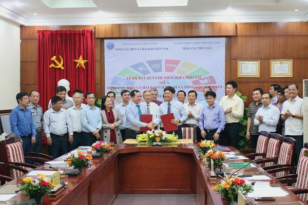 Tổng cục Biển và Hải đảo Việt Nam: Ký kết Quy chế phối hợp cùng bảo vệ nguồn lợi thuỷ sản, môi trường biển