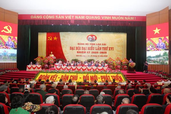 Khai mạc Đại hội Đại biểu Đảng bộ tỉnh Lào Cai lần thứ XVI