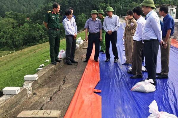 Thanh Hóa: Phê duyệt kinh phí 12 tỷ đồng xử lý sự cố nứt thân đập hồ Sông Mực