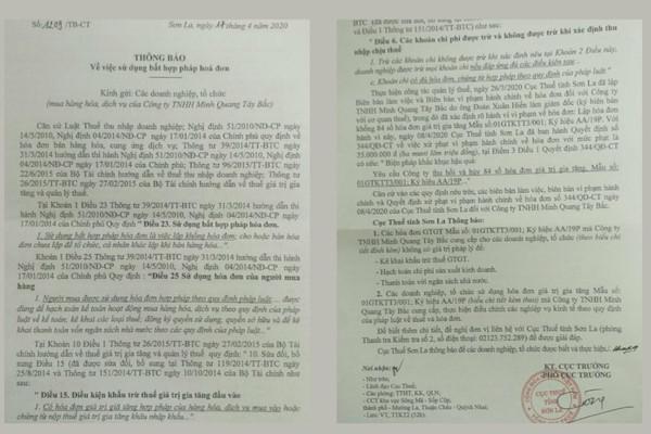 """Sông Mã – Sơn La: Xuất hóa đơn """"dởm"""", hàng chục doanh nghiệp điêu đứng"""