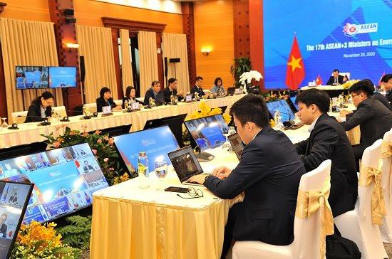 ASEAN+3 cam kết tăng cường hợp tác phục hồi năng lượng