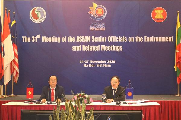Khai mạc Hội nghị Quan chức cao cấp ASEAN về môi trường lần thứ 31