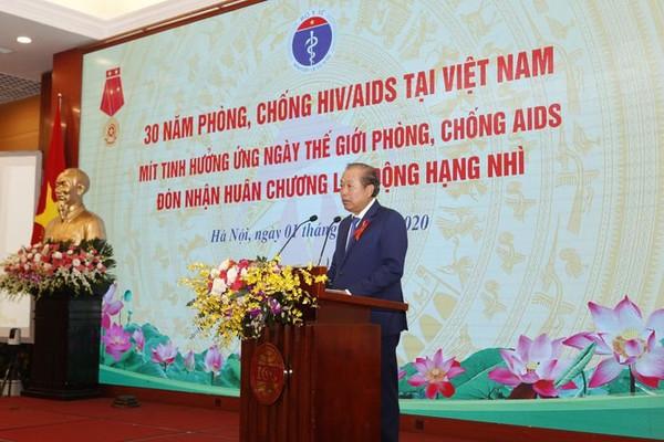 12 năm liên tiếp dịch HIV/AIDS ở Việt Nam được kiểm soát