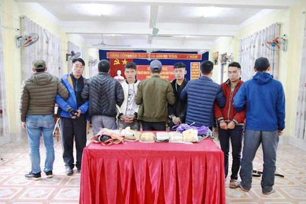 Lào Cai: Bắt các đối tượng buôn bán 30.000 viên ma túy tổng hợp