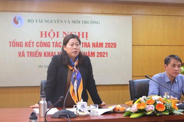 Bộ TN&MT triển khai nhiệm vụ công tác thanh tra năm 2021