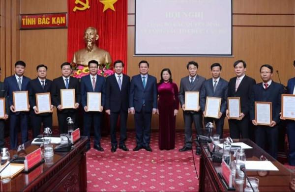 Bắc Kạn bổ nhiệm tân Giám đốc Sở Tài nguyên và Môi trường