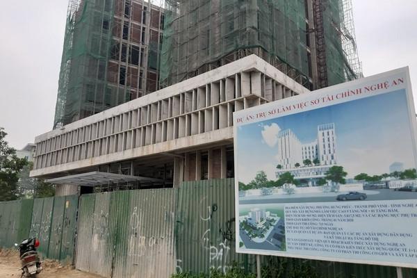 Nghệ An: Tai nạn công trình xây nhà làm việc Sở Tài chính, nhiều người thương vong