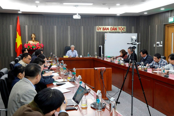 Ủy ban Dân tộc họp giao ban triển khai nhiệm vụ trong thời gian tới