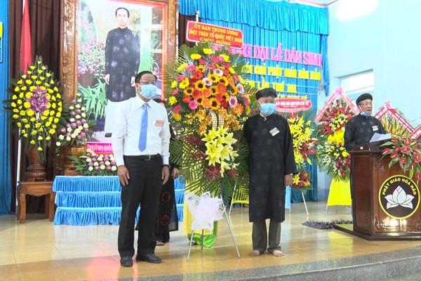 An Giang kỷ niệm lần thứ 101 năm Đản sinh Đức Huỳnh Giáo chủ Phật giáo Hòa Hảo