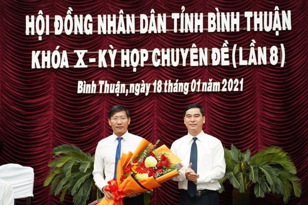 Ông Lê Tuấn Phong được bầu làm Chủ tịch UBND tỉnh Bình Thuận