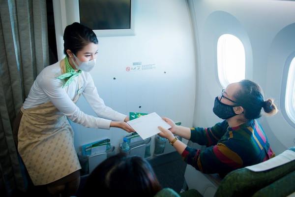 Thông điệp năm mới trên chuyến bay chào Tân Sửu của Bamboo Airways