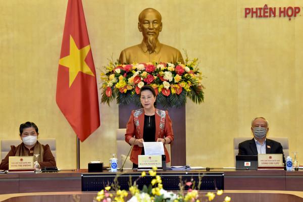 Khai mạc Phiên họp thứ 53 Uỷ ban Thường vụ Quốc hội