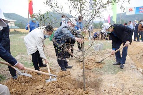 """Tuyên Quang ra quân hành động Tháng thanh niên """"Vì một Việt Nam xanh"""""""