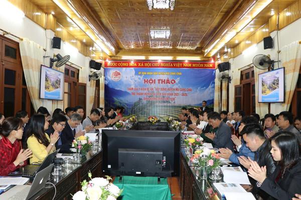 Mù Cang Chải (Yên Bái): Phấn đấu trở thành huyện du lịch