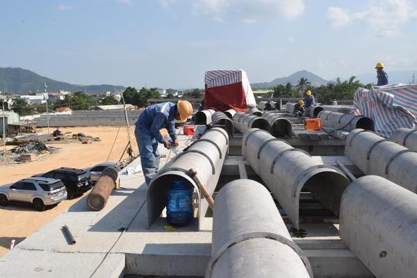 Thiếu nước, Đà Nẵng đẩy nhanh tiến độ hoàn thành Nhà máy nước Hòa Liên