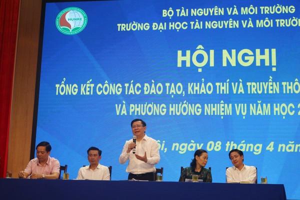 Trường Đại học TNMT Hà Nội sẽ hoàn thành các kế hoạch cải tiến chất lượng trong năm 2021