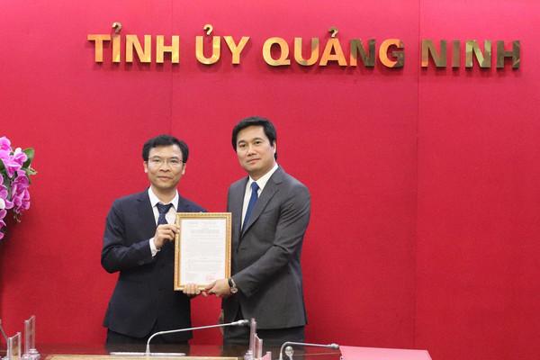 Quảng Ninh có tân Phó Giám đốc Sở Tài nguyên và Môi trường