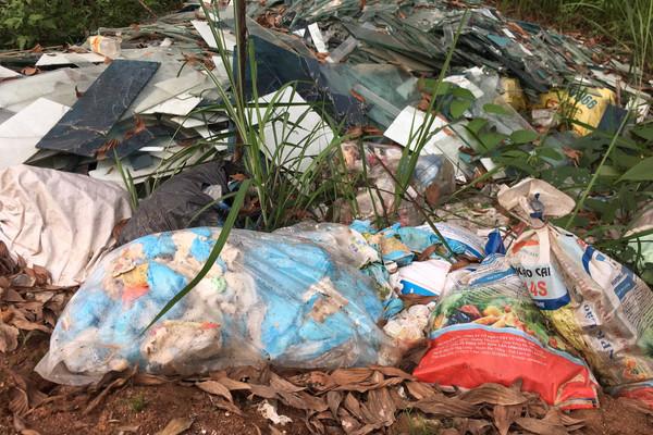Yên Bái: Khó trong xử lý rác thải ở nông thôn