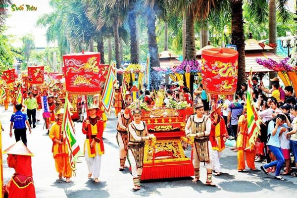 Quốc Tổ Hùng Vương - Linh thiêng cội nguồn dân tộc