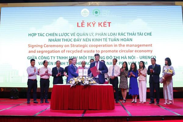 URENCO ký kết hợp tác với PRO Việt Nam thúc đẩy kinh tế tuần hoàn