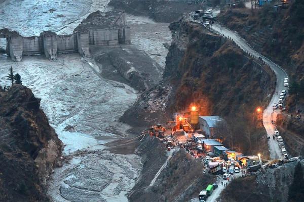Ít nhất 10 người thiệt mạng do vỡ sông băng gây lở tuyết ở Ấn Độ