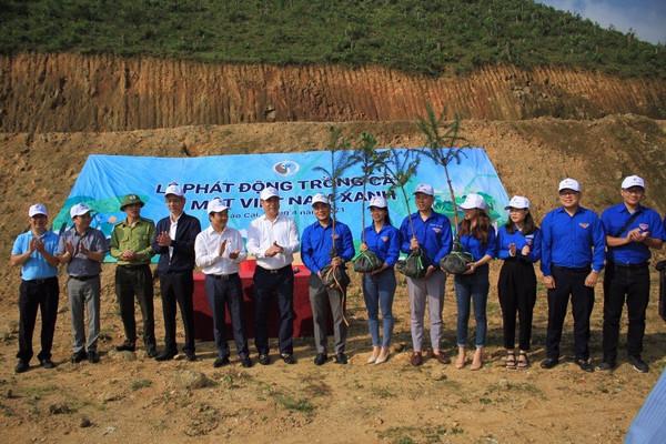 Khối thi đua số V - Bộ TN&MT hưởng ứng Chương trình trồng 1 tỷ cây xanh
